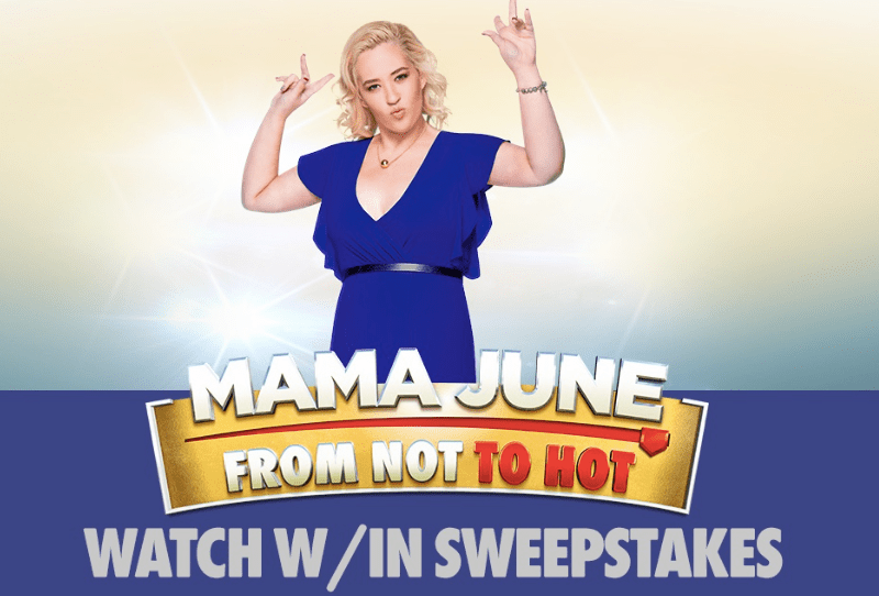 Get Code Word Mama June From Not To Hot Sweepstakes