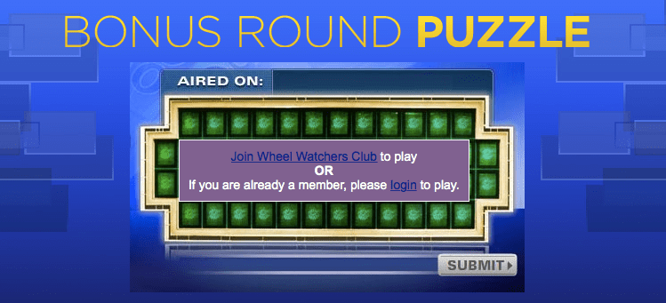 Wheel of Fortune Bonus Round Puzzle Answer for Today