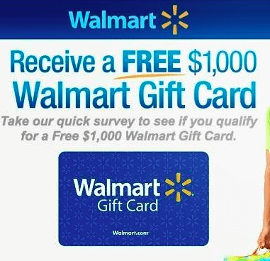 Survey.Walmart Gift Card Sweepstakes and Walmart.Survey.ca