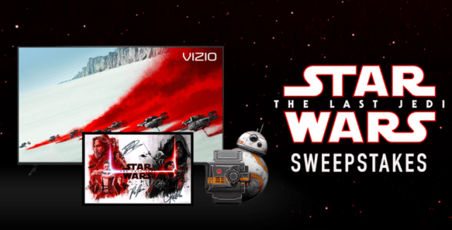 Star Wars: The Last Jedi Sweepstakes