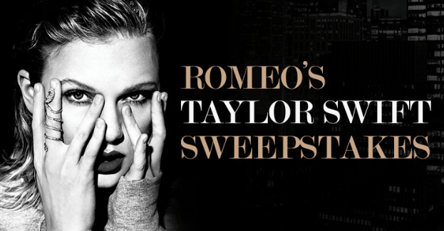 Romeo's Taylor Swift Sweepstakes