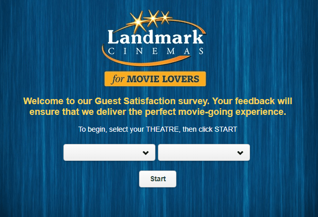Landmark Cinemas $100 Guest Survey Sweepstakes
