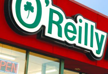 O'Reilly Auto Feedback