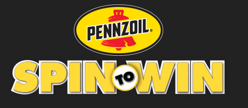 Enter Pennzoil Spin To Win Promotion