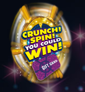 Enter Code DGRewards.com/PepsiCo Crunch Spin You Could Win Sweepstakes