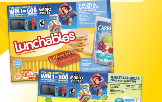 Lunchables Mario Party Sweepstakes Code