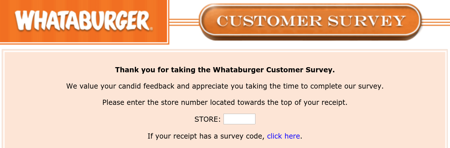 WhataburgerSurvey