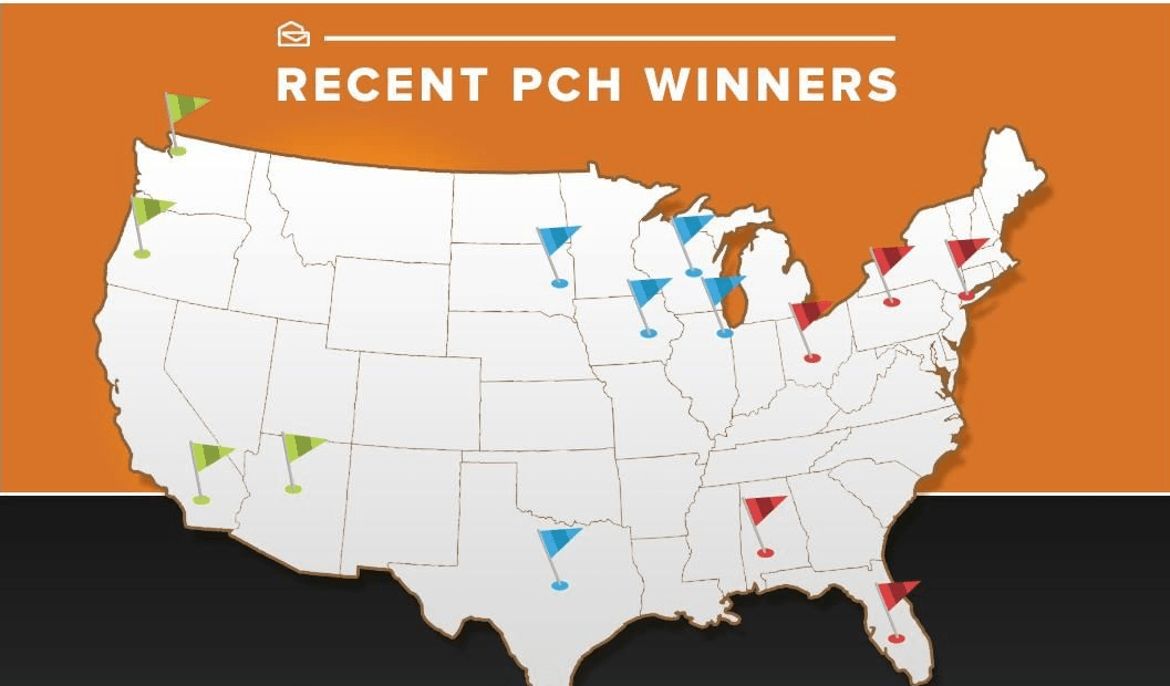 Easy PCH Sweepstakes Entry List - Publishers Clearing House