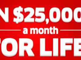 pch win 25000 month life sweepstakes