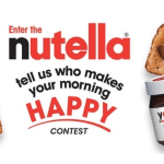 nutella.com/who-makes-your-morning-happy-contest