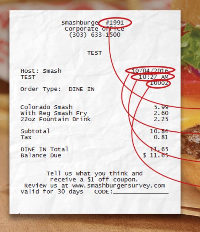 smashburger feedback survey