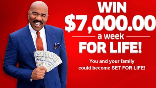 pch 7000 a week for life 2020