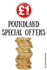 Poundland Special Offers