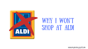 Why I won't shop at Aldi