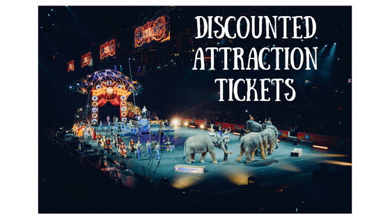 discounted attraction tickets