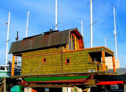 Tiny House Town Beautiful Seattle Tiny House: Living In A House(boat!)
