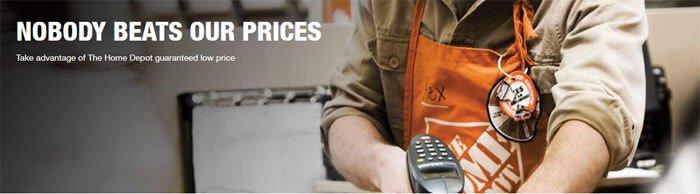 home depot price guarantee