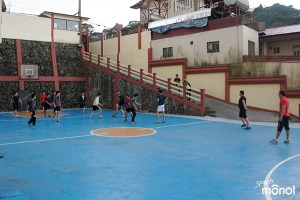 students-playing-futsal