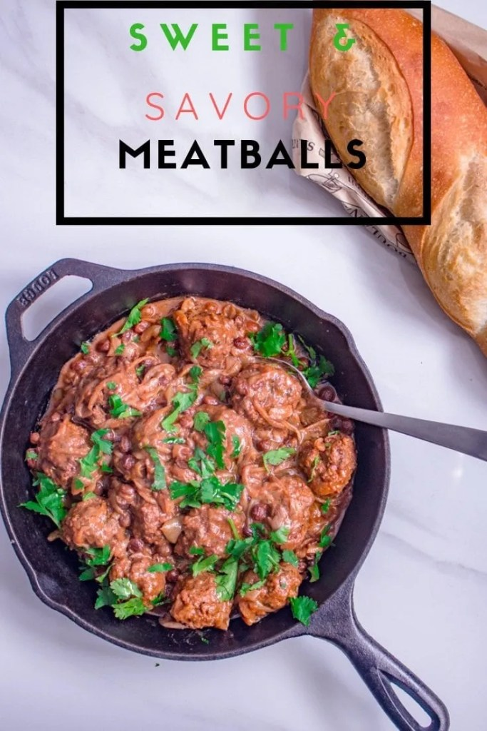 Sweet & Savory Moroccan-Style Meatballs | Easy Moroccan Inspired Dinner Recipe
