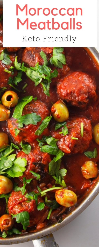 These are not your average meatballs. Moroccan meatballs are tangy, citrusy and are a welcome addition to any carb of your choice.