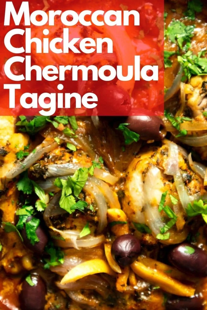 Simple Succulent Lemony Chicken Chermoula Tagine. Beginner-friendly and made with very simple ingredients. #Tagine #Moroccan #Recipe #Chicken #Lemon #Chermoula