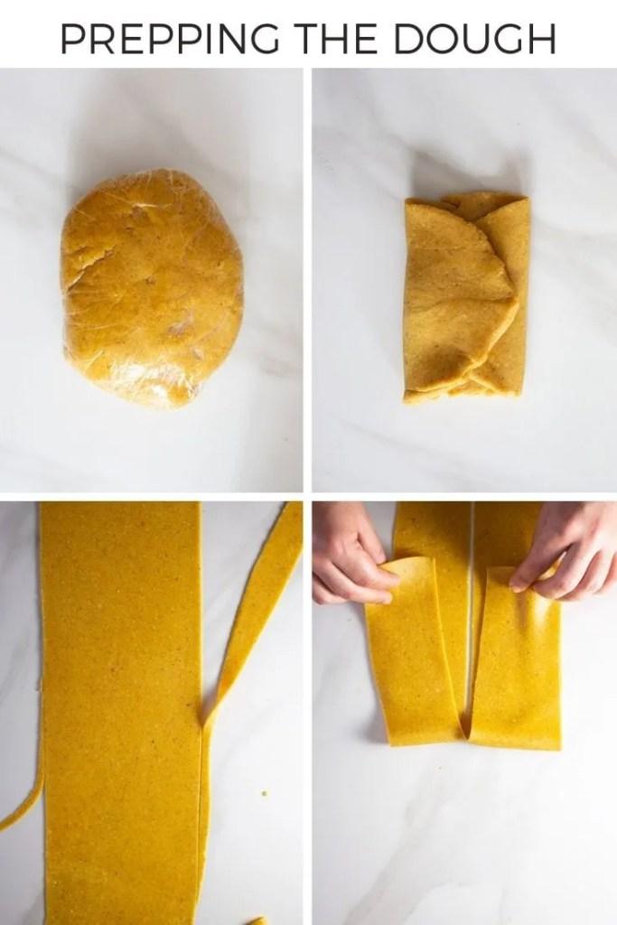 How to prepare chebakia dough