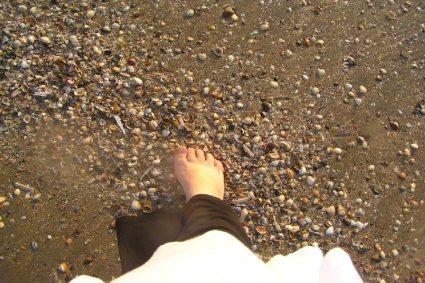 Mijn eigen voet