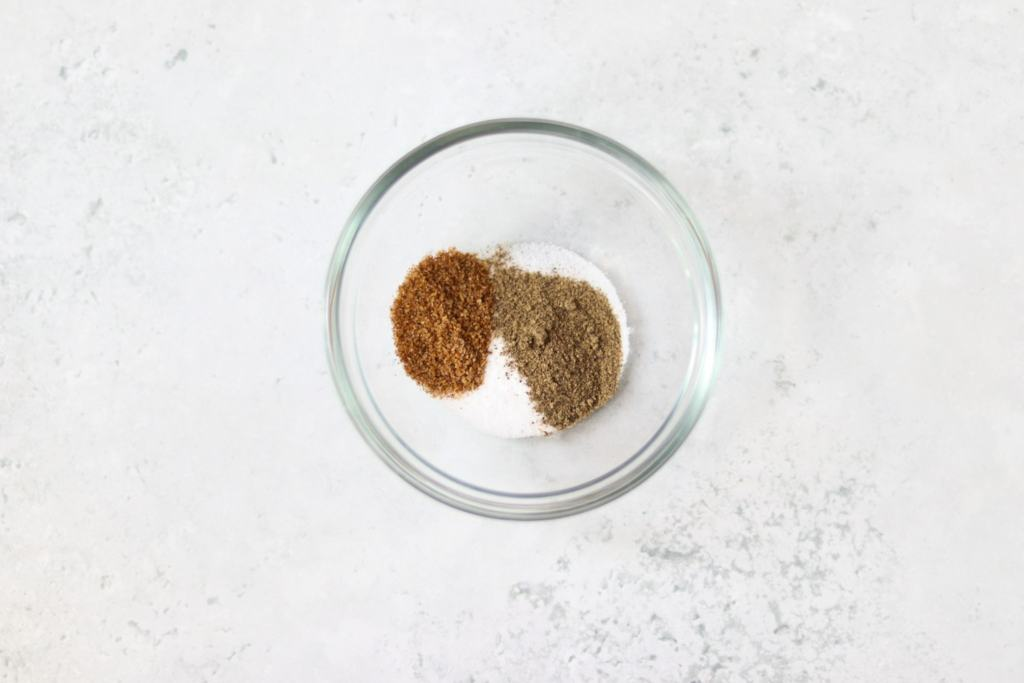 Salt and chilli spice mix