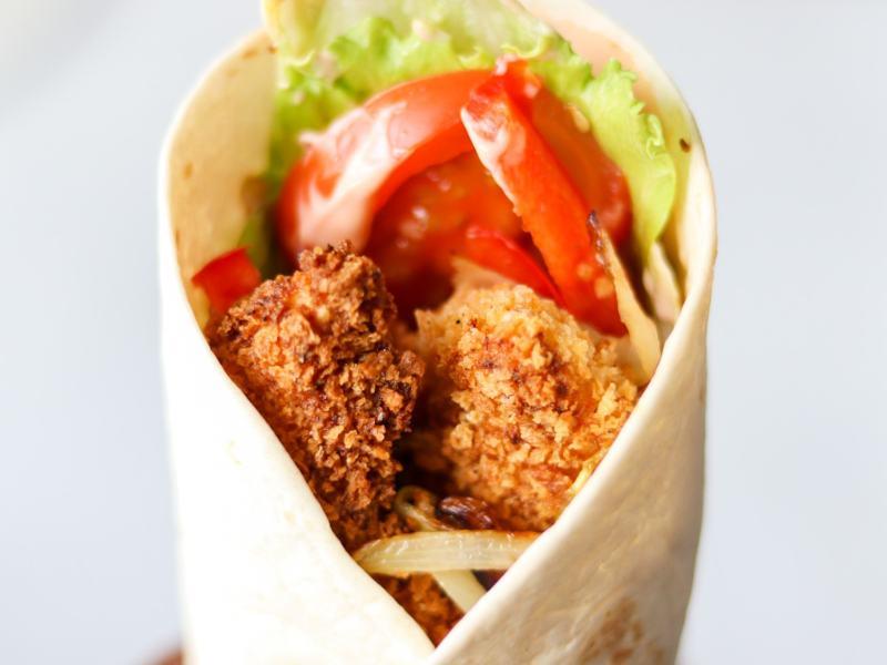 Southern fried chicken wrap recipe