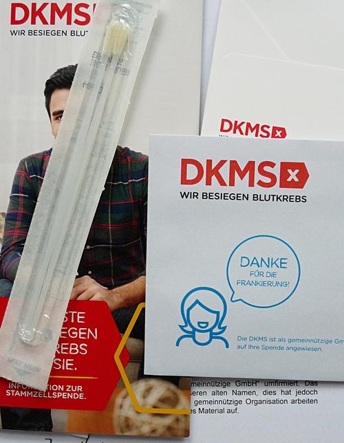 Bei der DKMS als Stammzellenspender registrieren lassen - Lifelist
