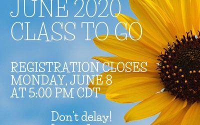 Register Now – June 2020 Class to Go
