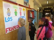 Visitamos las exposiciones del colegio