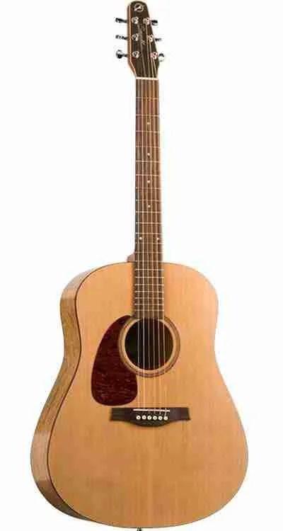 Seagull S6 Left-Handed Acoustic Guitar: An Interesting Design