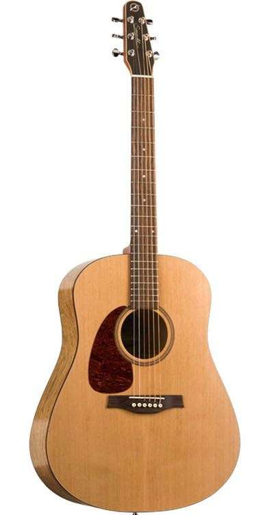 Seagull S6 Left-Handed Acoustic Guitar: An Interesting Design