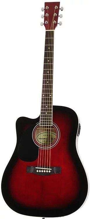 Jameson acoustic electric left handed