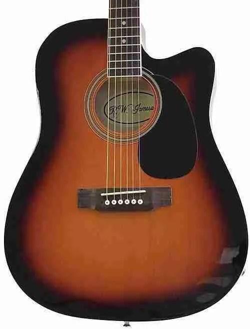 Jameson Acoustic Electric Guitars. Wait, Jameson? Yup.