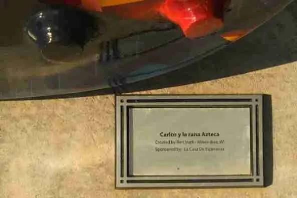 Carlos plaque