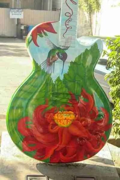 Hummingbird guitar body