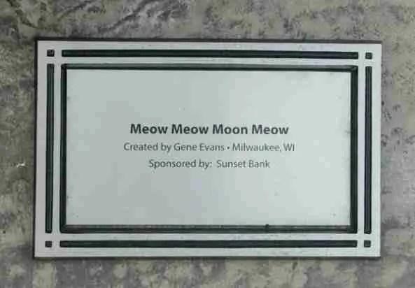 Tiger guitar plaque