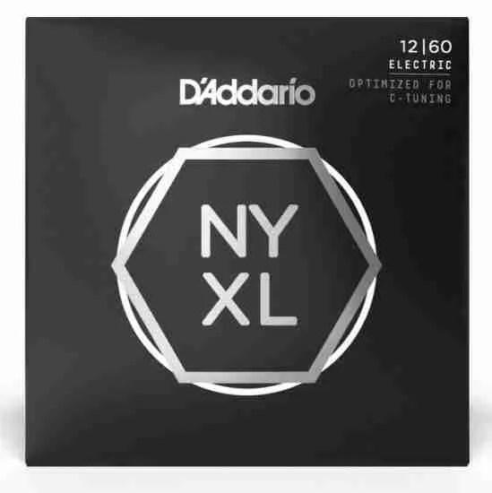 D'Addario NYXL Nickel Plated electric guitar strings