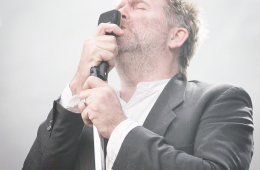 LCD Soundsystem performs at Q25 Jubileumsfesten in Kristiansand on 28. June 2016.