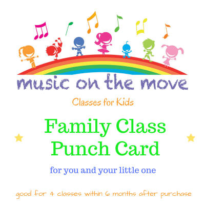 Family Class Punch Card
