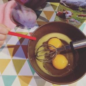 Beurre fondu & Oeufs à mélanger