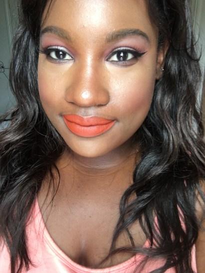 Just lipstick