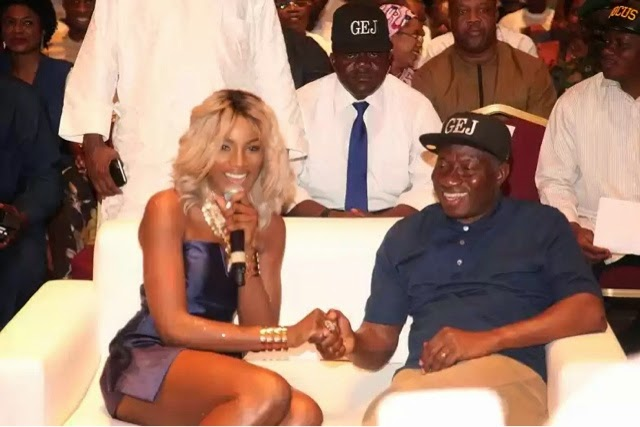 Goodluck Jonathan and entertainment industry
