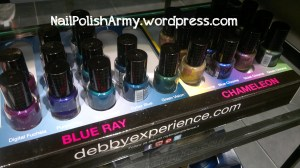 Debby limited editions Chameleon and Blue Ray - autumn-winter 2012/1013