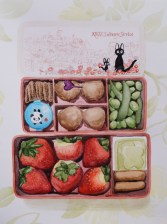 Meatball Bento Mar. 2015, watercolour on paper 11in. x 15in.