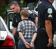 kids in handcuff