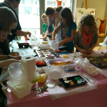 Kinderworkshop bij BlendUT