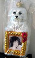 Radko AIDS 1998 Elizabeth LIZ TAYLOR Charity ornament resized